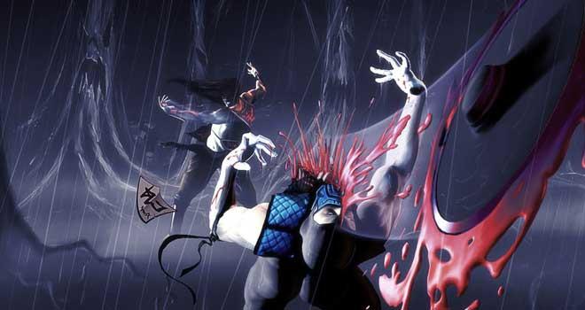 Mortal Kombat Sub-Zero Vs Kung Lao by Oliver Loftus