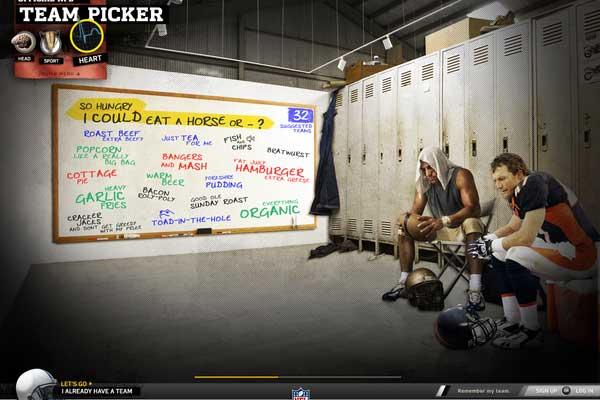 NFL Team Picker by Dann Petty