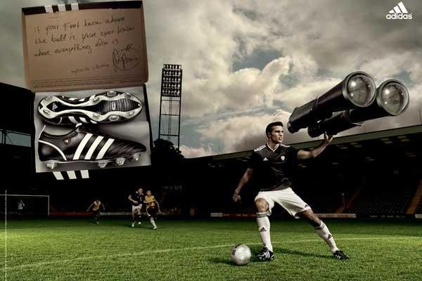 Adidas European Cup Campagin by Levon Biss
