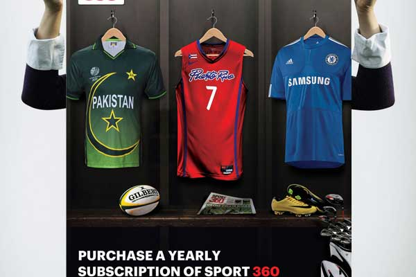 Sport 360 Advert by Mohammad Zia