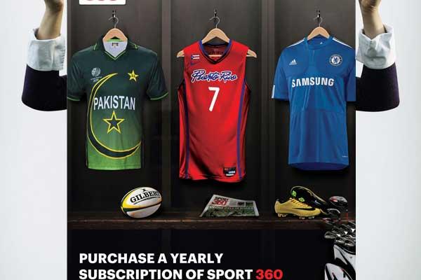 Sport 360 Advert by Mohammad Zia
