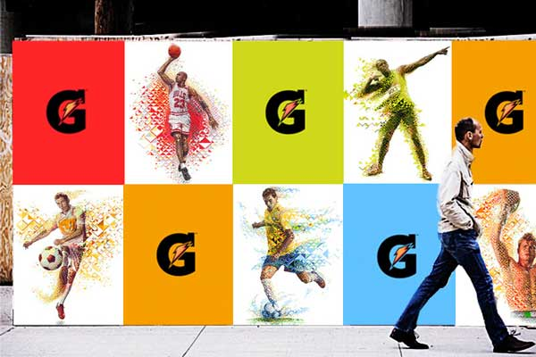 Gatorade Evoluciona & New Line 3 Series by Charis Tsevis
