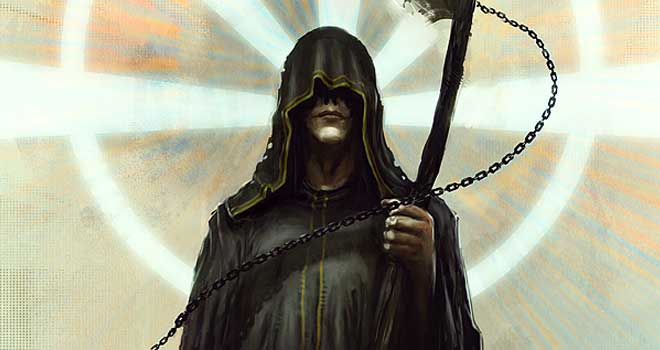 The Grim Reaper by Markus Lovadina