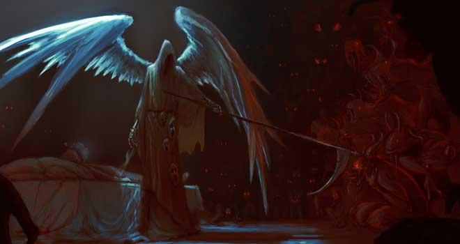 The Grim Reaper by Elena Ciolacu