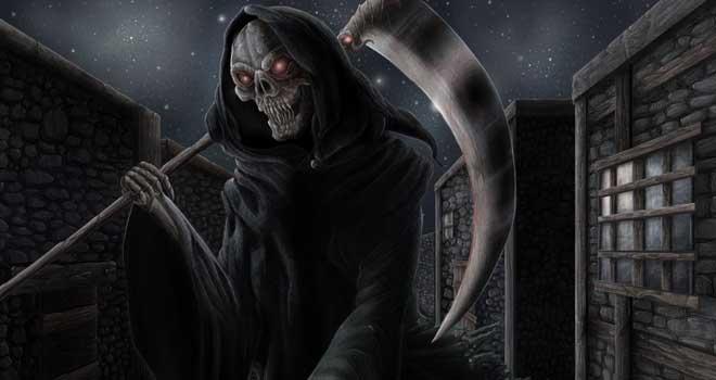 Grim Reaper by Cindy de Andrade Avelino