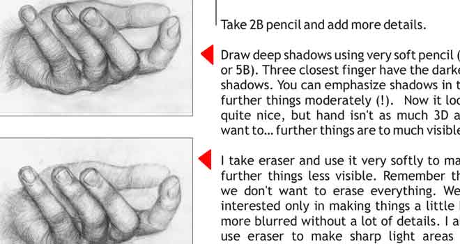 Tutorial: How To Draw Hands by Sklonowana Owca