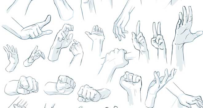 Hand Tutorial - Tips And Reference by Qinni