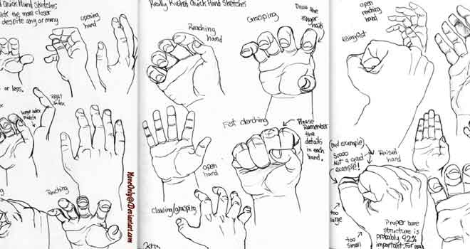 Hand Poses by NoneOnly