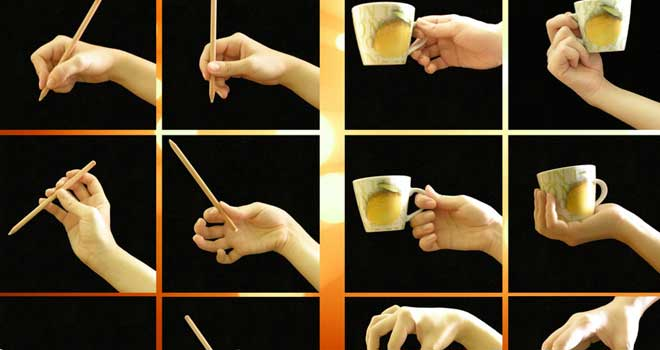 Right Hand, A Pencil And A Cup by Ayumi Lemura