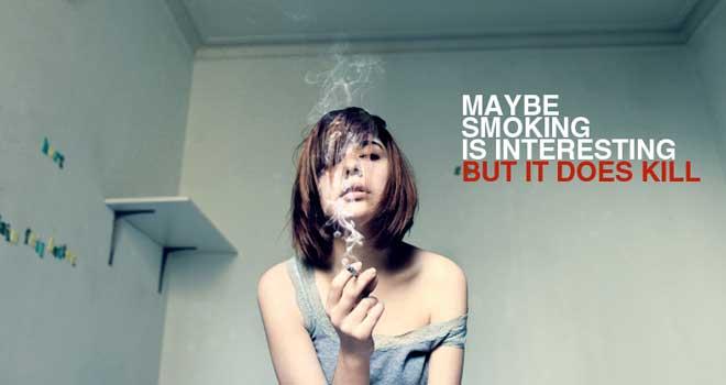 Smoking Advertisement by Travis Michael Roche