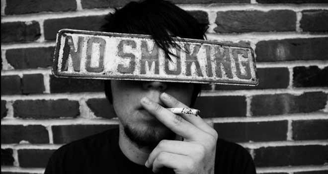 No Smoking by Elizabeth Sumpter