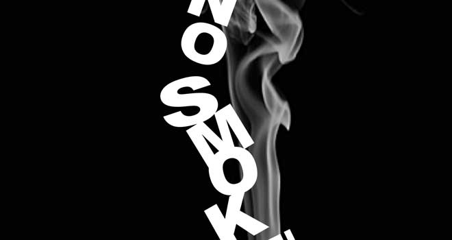No Smoking Poster by Stanimir Bikovski