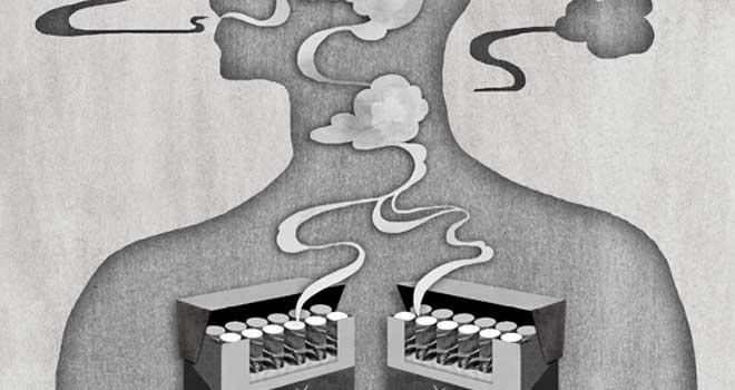 Smoking by luminatefalls