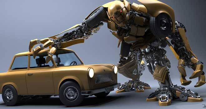 Robot In Disguise by Valentin Yovchev