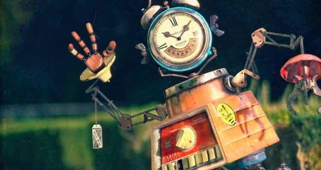 Blendy the Robot by Hugo Silva