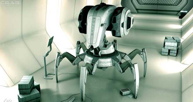 C.R.A.B. Robot by Jamie Martin