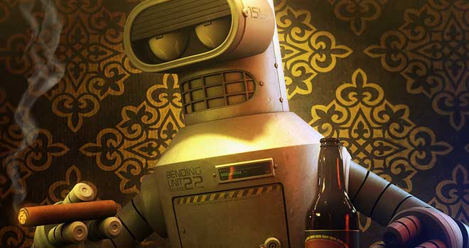 Bender Goes To Vegas by Thiago Miranda de Oliveira