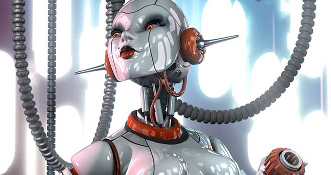 Joybot by Lee Davies