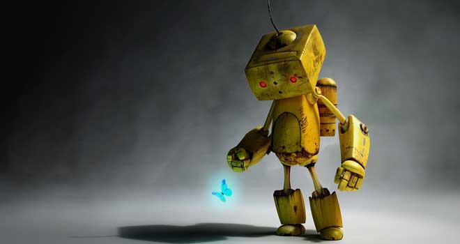 Melancholy Robot by Paul Gogola