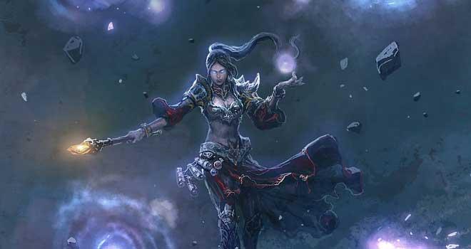 Sorceress Unleashed by ChaoyuanXu