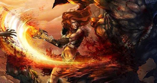 Diablo III - Kynthia by Cynthia Lorenzon