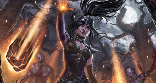 Diablo 3 Wizard by Sara Forlenza