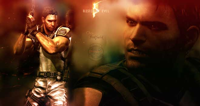 Chris Redfield by RedDevil00