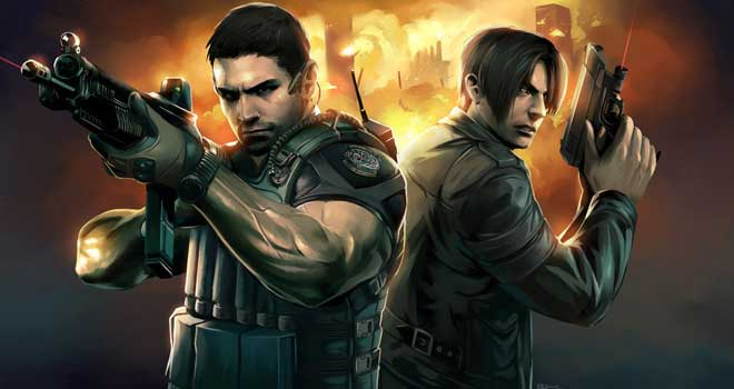 Resident Evil 6 Painting by Emilio J.Lopez