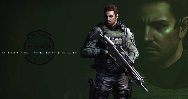 Resident Evil 6 - Chris Redfield Wallpaper Pack by FadedBlackangel
