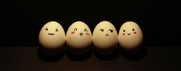 Cute Egg Faces And Smileys Conceptual Photos