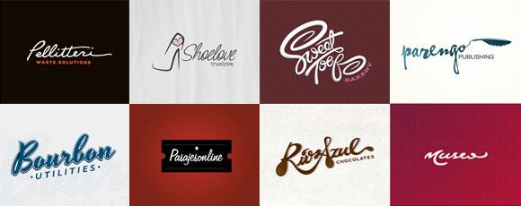 20 Inspiring Cursive Typography Logos