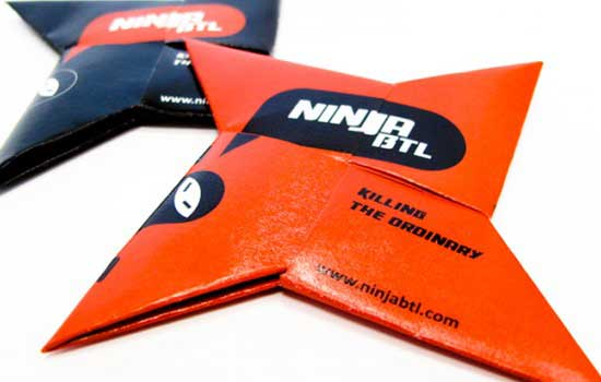 Ninja BTL Business Card