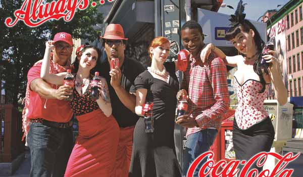 Coca-Cola Ad: Red New York by Kenneth Shinabery