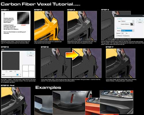 Vexel Carbon Fiber Tutorial by Russ Schwenkler