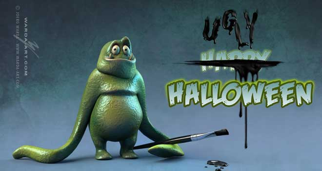 Ugly Halloween by Joerg Warda
