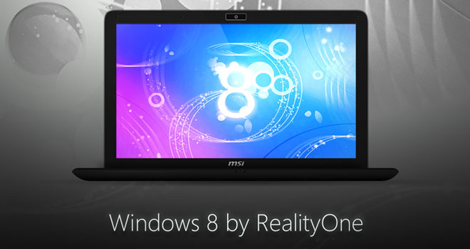 Windows 8 by RealityOne