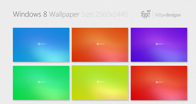 Windows 8 Wallpaper Pack by Felipe Coutinho