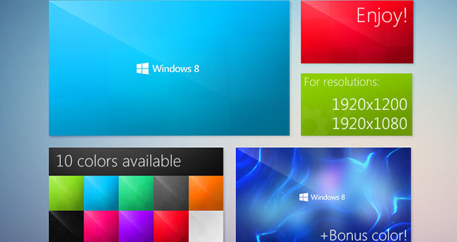 Windows 8 Metro WallPack v 2.0 by Lukas Sykora