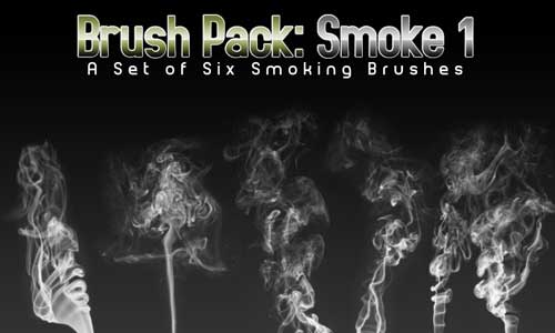 6 Smoke Brushes by PerpetualStudios