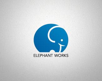 Elephant Works by Alice B.