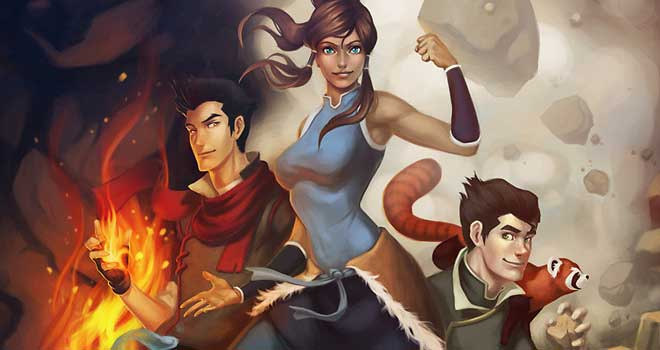 LoK: Mako, Korra and Bolin by Orsolya Kiss
