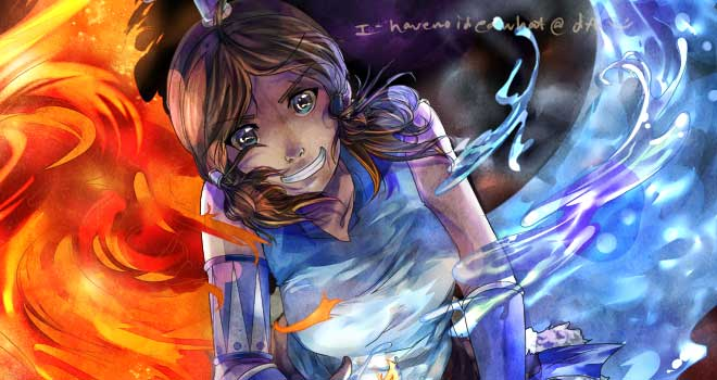 Korra by i-havenoideawhat