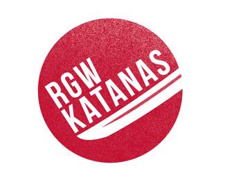 RGW Katanas Logo by Stuart Lindsay