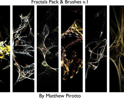 10 Fractals and Fractal Brushes by Matthew Pirotto