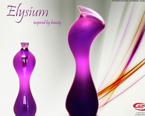 Elysium Perfume Bottle Design by Carlos Eugenio Gonzalez
