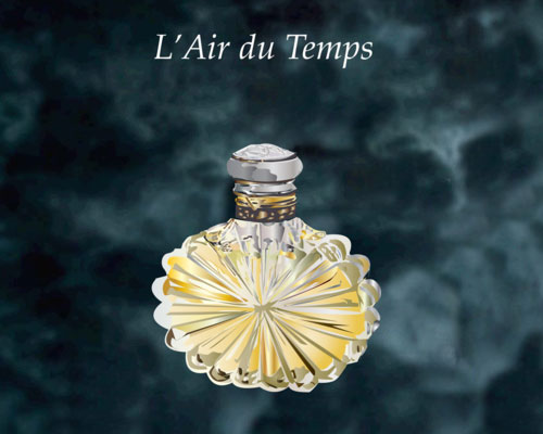 L'Air du Temps Perfume Bottle by Laura Golden