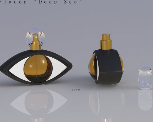Perfume Bottle Design by Frederic M. Thibaud