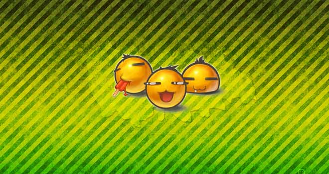 Yolks Wallpaper by Keita24