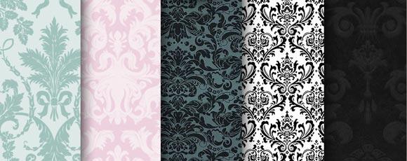 elegant pattern sets and tileable backgrounds ninja crunch