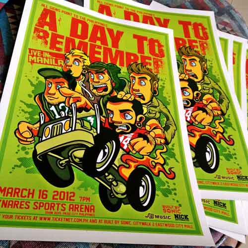 A Day To Remember Live In Manila by Nicolo Nimor